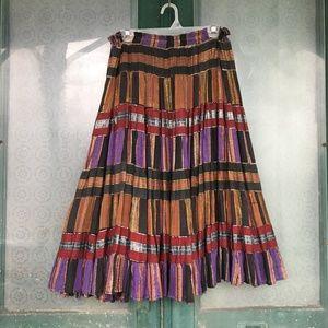 Dresses & Skirts - Festival Skirt Colorful Full & Flouncy